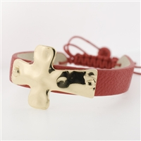 Cross Pull String Bracelet